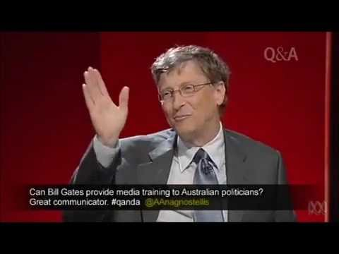 QandA Bill Gates on self-confidence and succeeding in an extroverted world