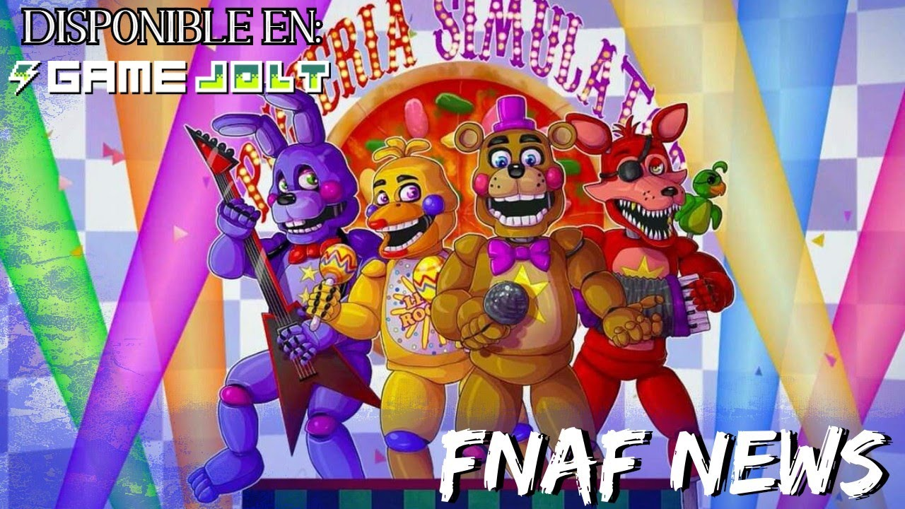 FNAF 6 DISPONIBLE EN GAMEJOLT !! / Freddy Fazbear Pizzeria Simulator