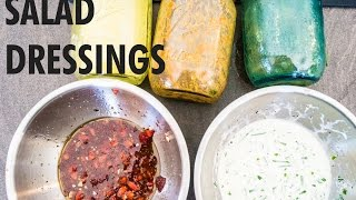 5 Salad Dressings In 5 Mins By The Fat Kid Inside