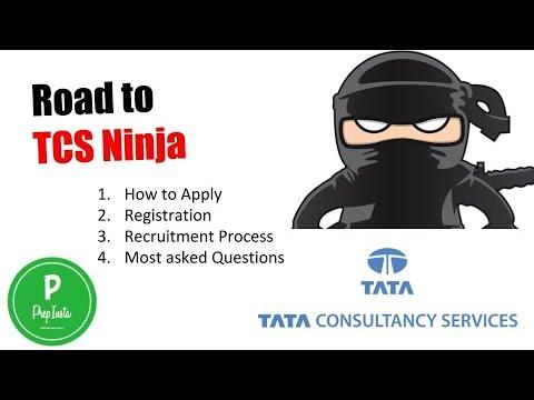 TCS Ninja Recruitment and Registration Process for TCS Ninja Hiring 2018  Aptitude