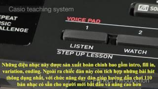 Keyboard Casio CTK-3200 phím hộp 3 bước tự học