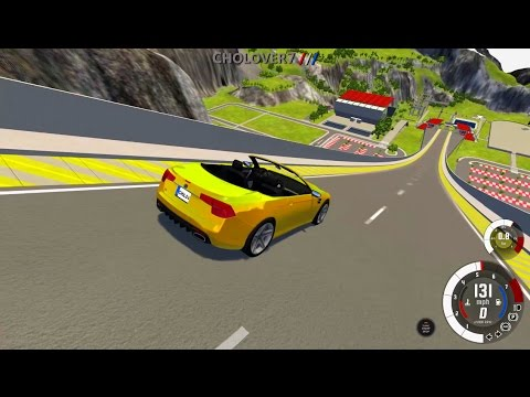 BeamNG Drive: Car Jump Arena Crashes and Rolls 121 NO MUSIC
