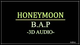 Video HONEYMOON - B.A.P (3D Audio) download MP3, 3GP, MP4, WEBM, AVI, FLV Agustus 2018