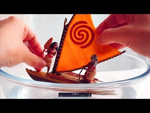 """Canto """"Io sono Vaiana"""" giocando con i pupazzetti - Cover Oceania"""