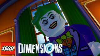 LEGO Dimensions : The Joker (Gameplay PS4/Xbox One/Wii U 1080p HD)