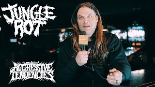 Dave Matrise of Jungle Rot on gun control, his other job as a hunting guide | Aggressive Tendencies