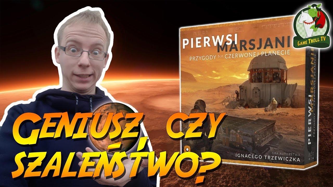 Download Pierwsi Marsjanie | Gra Planszowa