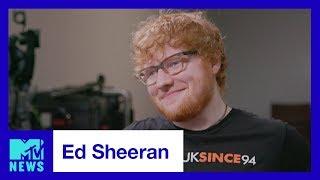 Ed Sheeran Talks 'Shape of You', His 2017 VMA Nominations & More | MTV News