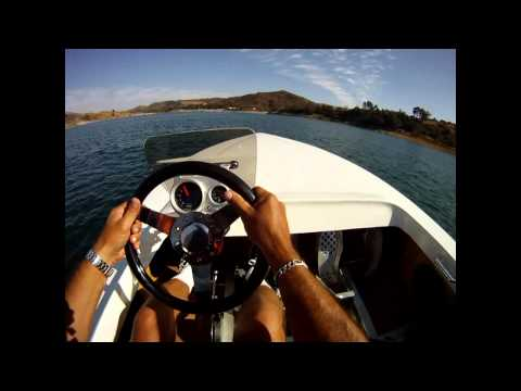 Behind the Wheel of a Blown Alcohol K Boat