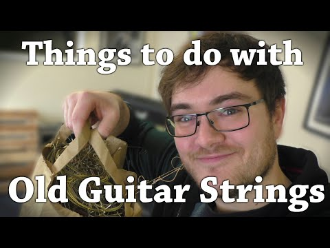 Things To Do With Old Guitar Strings (and their packaging)