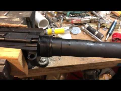 DPMS Oracle 308 Monstrum Tactical Free Float Handguard Removal and Install