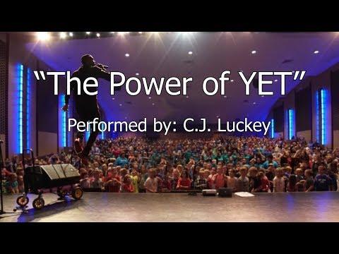 Power of Yet Lyric Video. C.A.P.S. C.J. Luckey