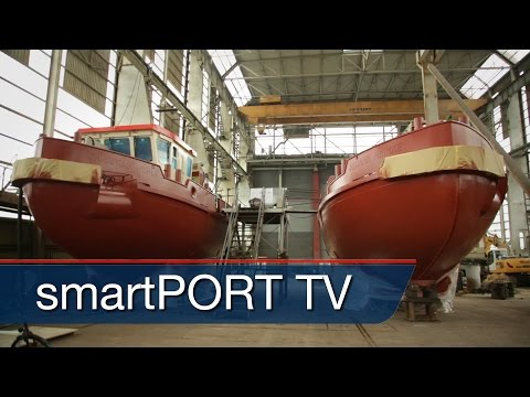 Modern shipbuilding - New icebreakers for the Port of Hamburg