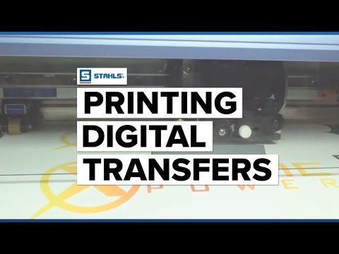 Print/Cut Press Heat Transfer Printing