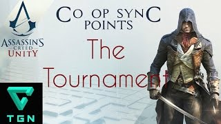 Assassin's Creed Unity Co Op Sync Points The Tournament