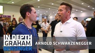 Arnold Schwarzenegger: Taking Donald Trump's job