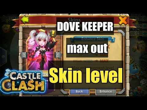 Castle Clash | Dove Keeper - Max Out Skin