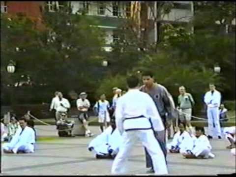Graham-Healy-Back-Kick-1991-YJD-Bne-Pad-Kicks-UTUB...