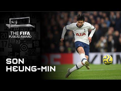 Son Heungmin Goal   FIFA Puskas Award 2020 Winner