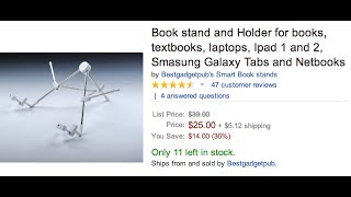 Best Book Stand - The Smart Stand