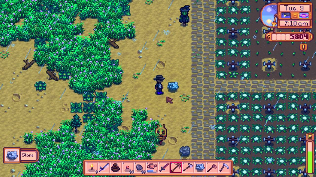 stardew valley how to get iron
