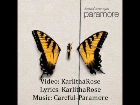 Careful-Paramore lyrics