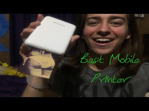 Best Mobile Printer | Polaroid Zip | How To | TIPS | Review | Instant Mobile Printer