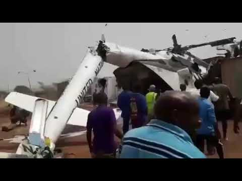 Dramatic footage shows Ethiopian military helicopter crash in South Sudan