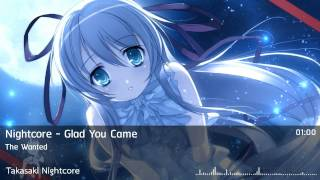 Repeat youtube video Nightcore - Glad You Came