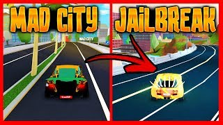 10 THINGS OF MAD CITY THAT WILL PUT IN JAILBREAK - Roblox