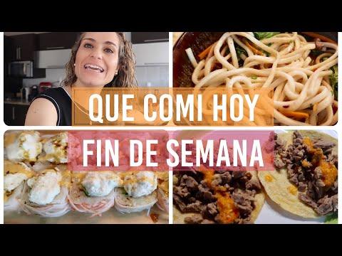 QUE COMÍ HOY / FIN DE SEMANA (VISITA BED, BATH AND BEYOND, CITY MARKET)