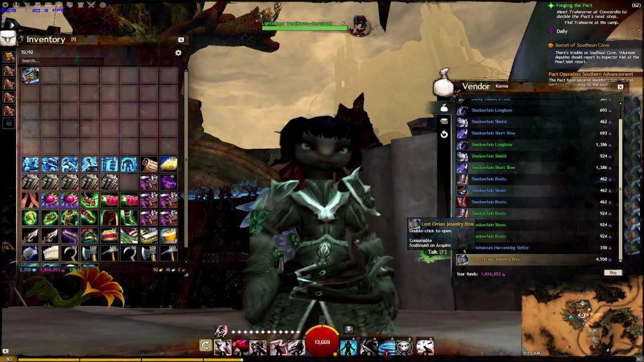 lost orrian jewelry box guild wars 2 opening lost orrian jewelry boxes 9562