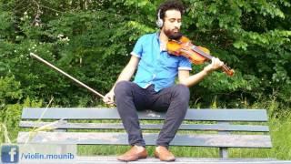 الحب - لا تطفئ الشمس - أصالة - Violin cover: Ahmed Mounib