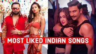 Top 10 Most Liked Indian Songs of All Time on Youtube