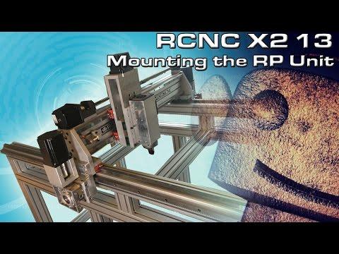 RCNC X2 Router 13: Mounting the Anti-Backlash Rack & Pinion Drive