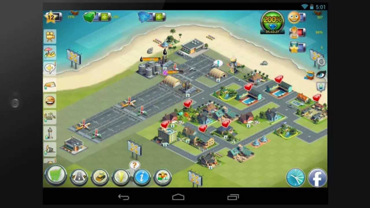 City Island: Airport 2 gameplay