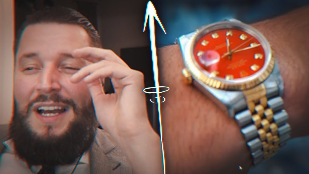 23.000€ VINTAGE DATEJUST? 🤔😅   ROLEX FAKE ODER REAL CHECK   Marc Gebauer Reaktion