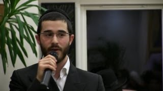 Moishe Kahan at Schonfield Square Stamford Hill North London