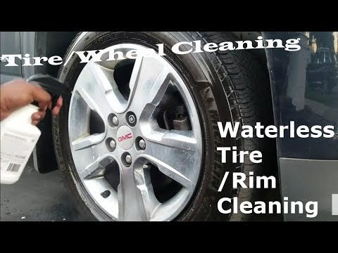 Waterless Tire/Rim Cleaning