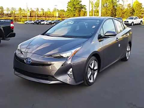2017 toyota prius 4 touring w black interior by alan youtube. Black Bedroom Furniture Sets. Home Design Ideas