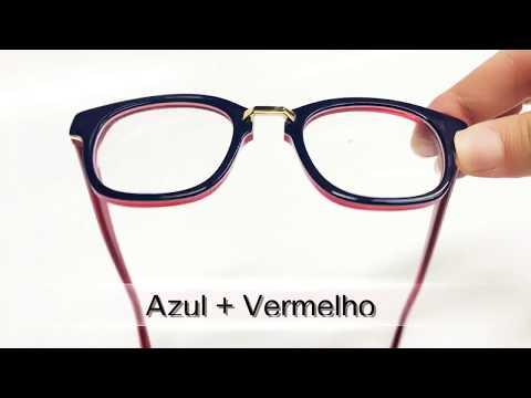0b002d962 Armação de óculos de grau estilo quadrado feminino - YouTube