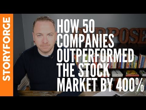 How 50 Companies Outperform The Stock Market By 400%