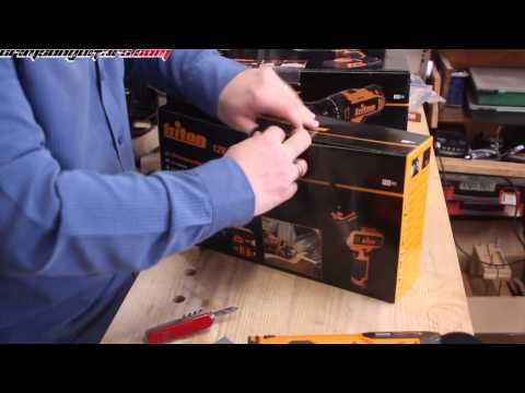 Triton tools - unboxing the NEW T20 20 volt drills and a few other T12 goodies!
