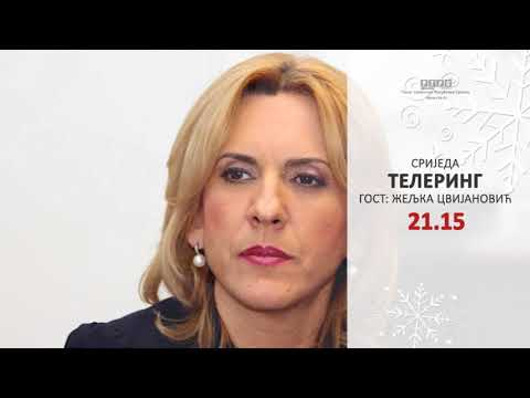TELERING - gost Željka Cvijanović RTRS promo