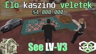 See V3 2.000.000- 5.500.000 lNyereményl Kaszinózás veletek élőben.