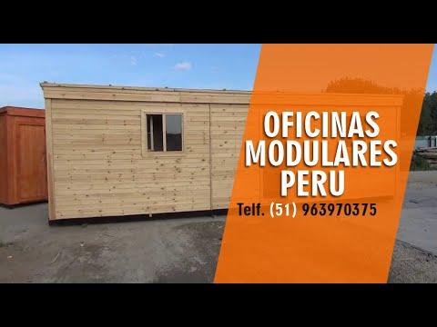Casas prefabricadas de madera en lima peru youtube - Casa de maderas prefabricadas ...