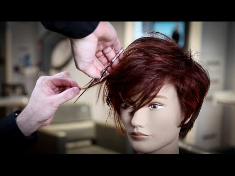 Textured PIXIE Haircut Tutorial | MATT BECK VLOG 92