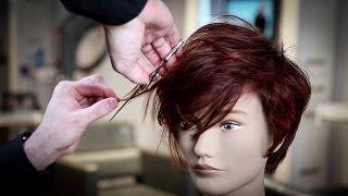 Textured PIXIE Haircut Tutorial   MATT BECK VLOG 92