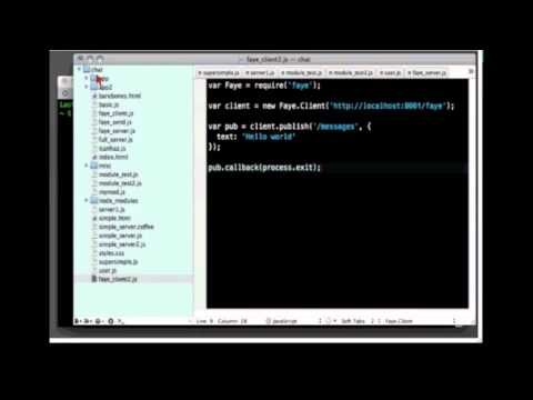 O'Reilly Webcast: How to Build a Chat Room in JavaScript in