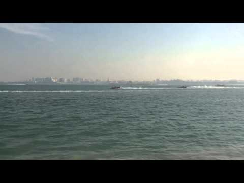 Formula 1 Boat Racing in Doha, Qatar (2014)